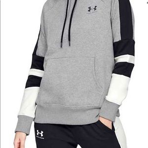 NWT Under Armour Womens Rival Fleece Hoodie